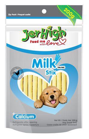 JerHigh Milk Stix Dry Dog Snack