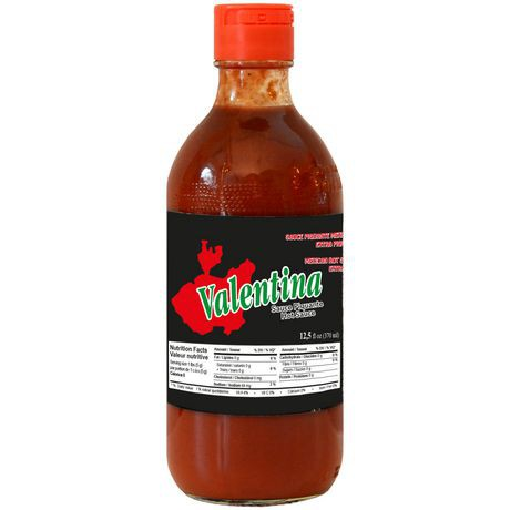 Black extra hot sauce