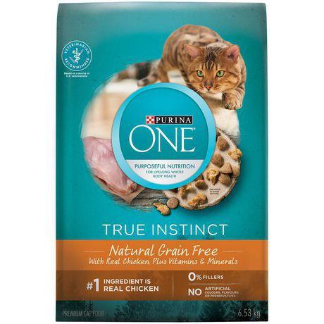True instinct natural cat food chicken