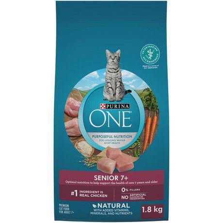 Senior 7+ natural dry cat food