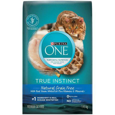 True instinct natural cat food real ocean whitefish