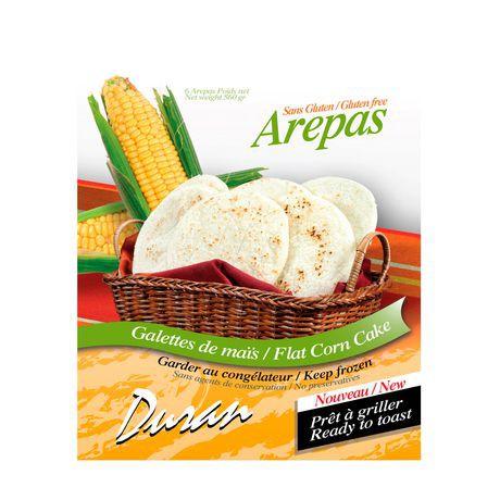 Brar's Duran Arepas Flat Corn Cake