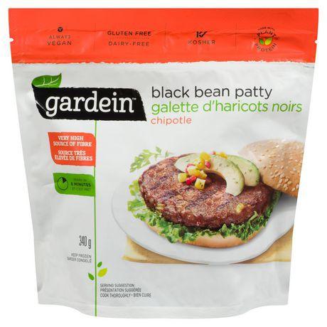 Gardein Blackbean Patty Chipotle Meat Free