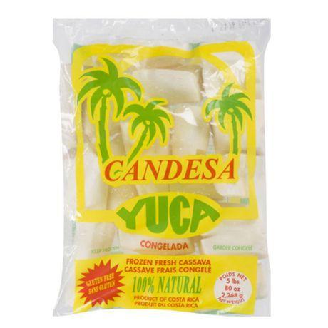 Brar's Candesa Yuca Frozen Fresh Cassava