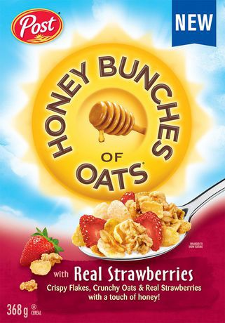 Post Honey Bunches of Oats with Real Strawberry · Walmart