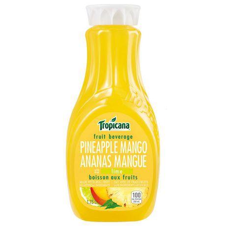 Pineapple mango beverage