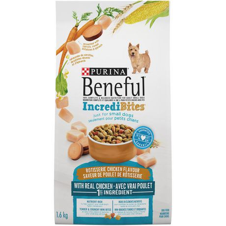 Incredibites dog food for small dogs
