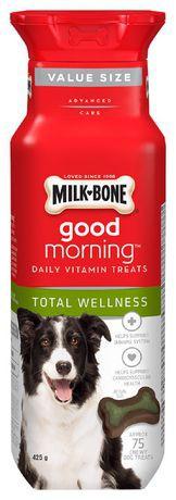 Milk-Bone Good Morning Total Wellness Daily Vitamin Dog Treats 425g