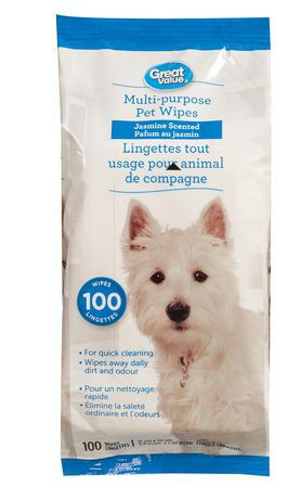 Great Value Pet Wipes