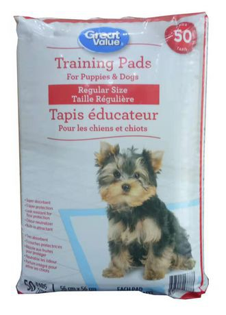 Great Value Puppy Training Pads