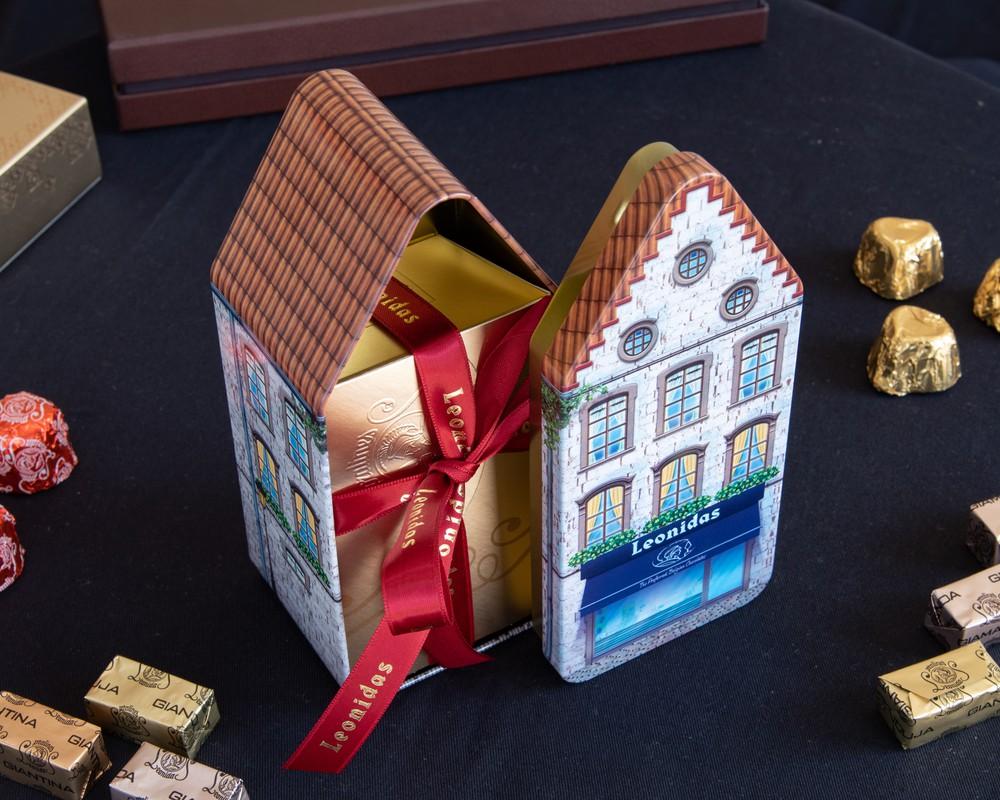 Casa belga chica 250 grs de chocolate+ casa belga