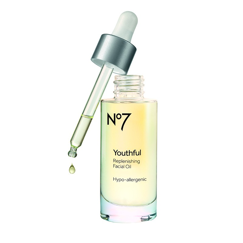 Youthful aceite facial rellenad