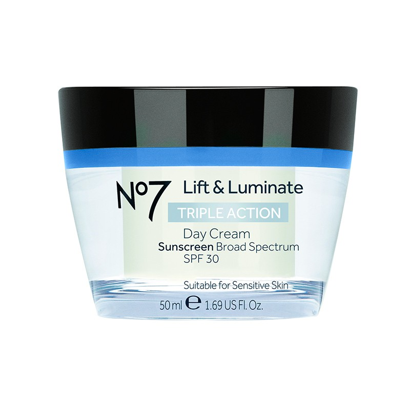 Lift & iluminate triple prot crema de día