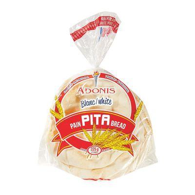 White pita bread 225 g