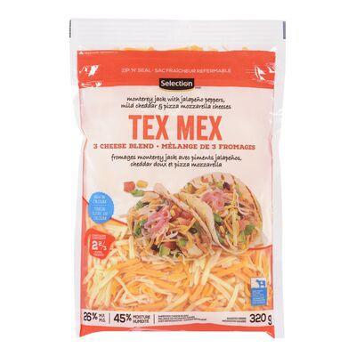 Tex Mex shredded cheese blend