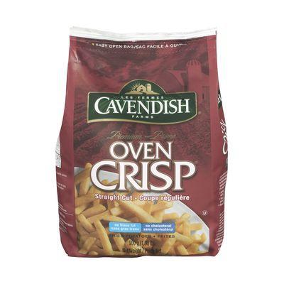 Frozen straight cut fries, Oven Crisp