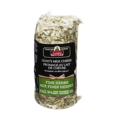 Artisan fine herbs goat's milk cheese