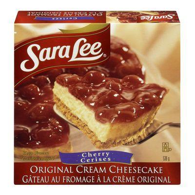 Cherry flavoured cream cheesecake 538 g