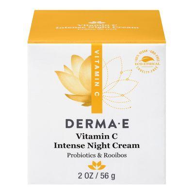 Vitamin C intense night cream with probiotics and rooibos