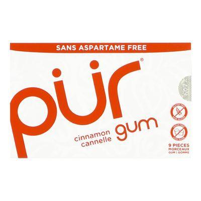 Cinnamon flavoured gum