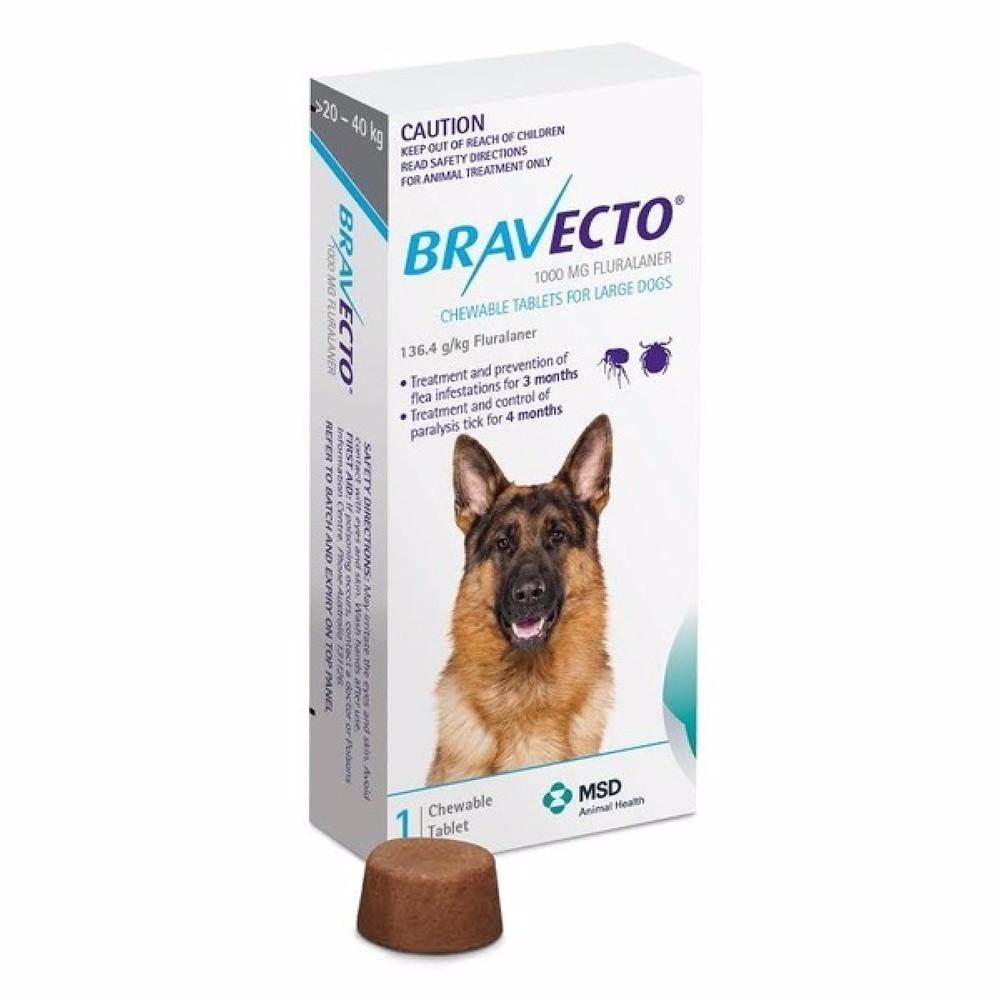 Bravecto >20- 40 kg