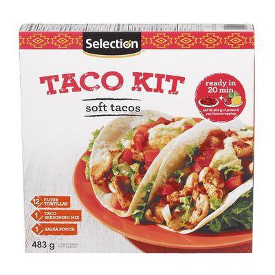 Soft tacos kit