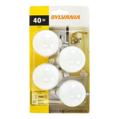 40 Watt White Ceiling Fan Light Bulbs Sylvania 4 Un Delivery Cornershop Canada