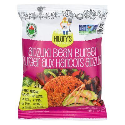 Adzuki bean veggie burger patties