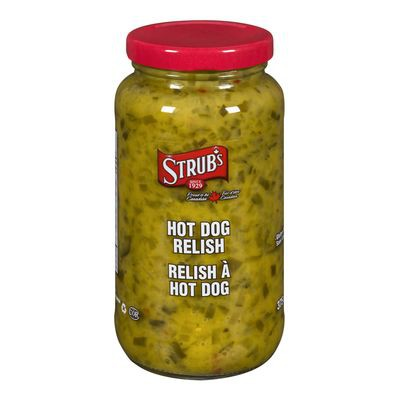 Hot Dog Relish Sauce Strub S 375 Ml Delivery Cornershop Canada