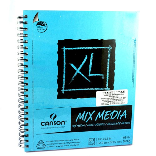 Block canson xl mix media