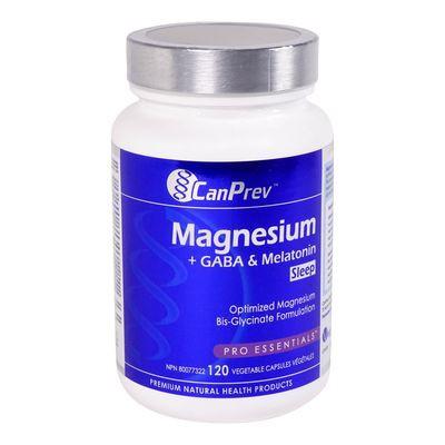 Magnesium + GABA & Melatonin 120 ct