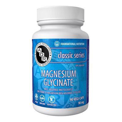 Magnesium glycinate capsules 90 mg