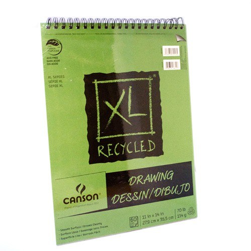 Block canson xl recycled drawing