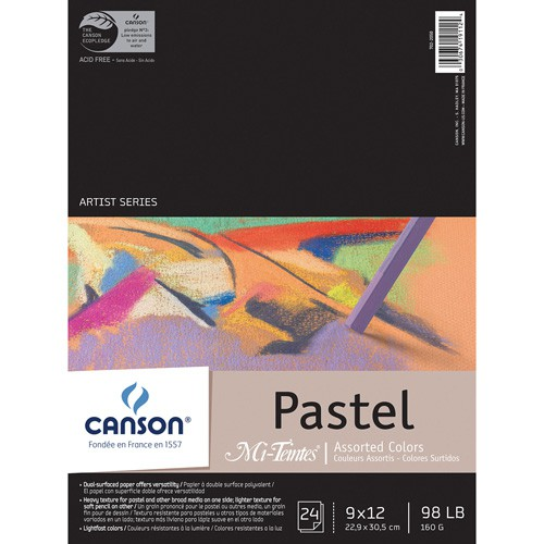 Block canson pastel