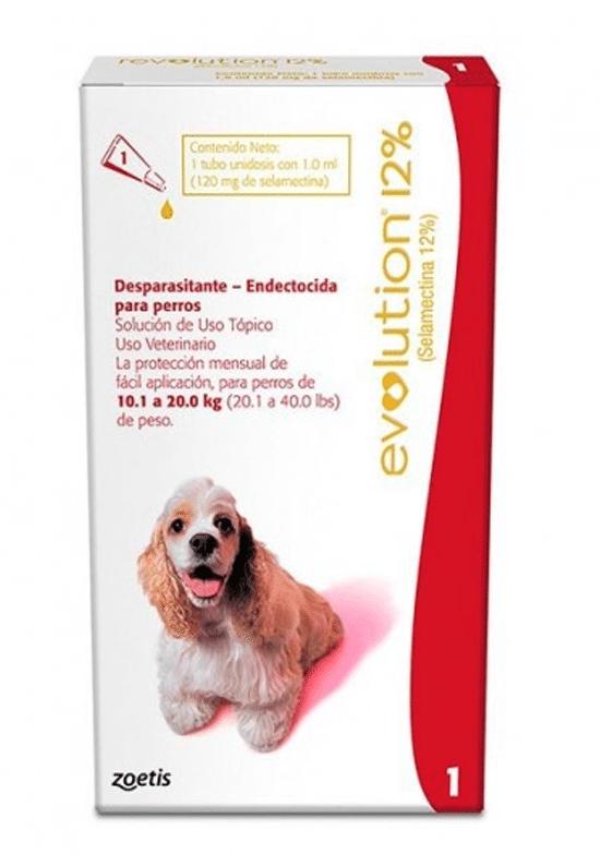 Revolution 12% perros de 10.1 a 20 kg