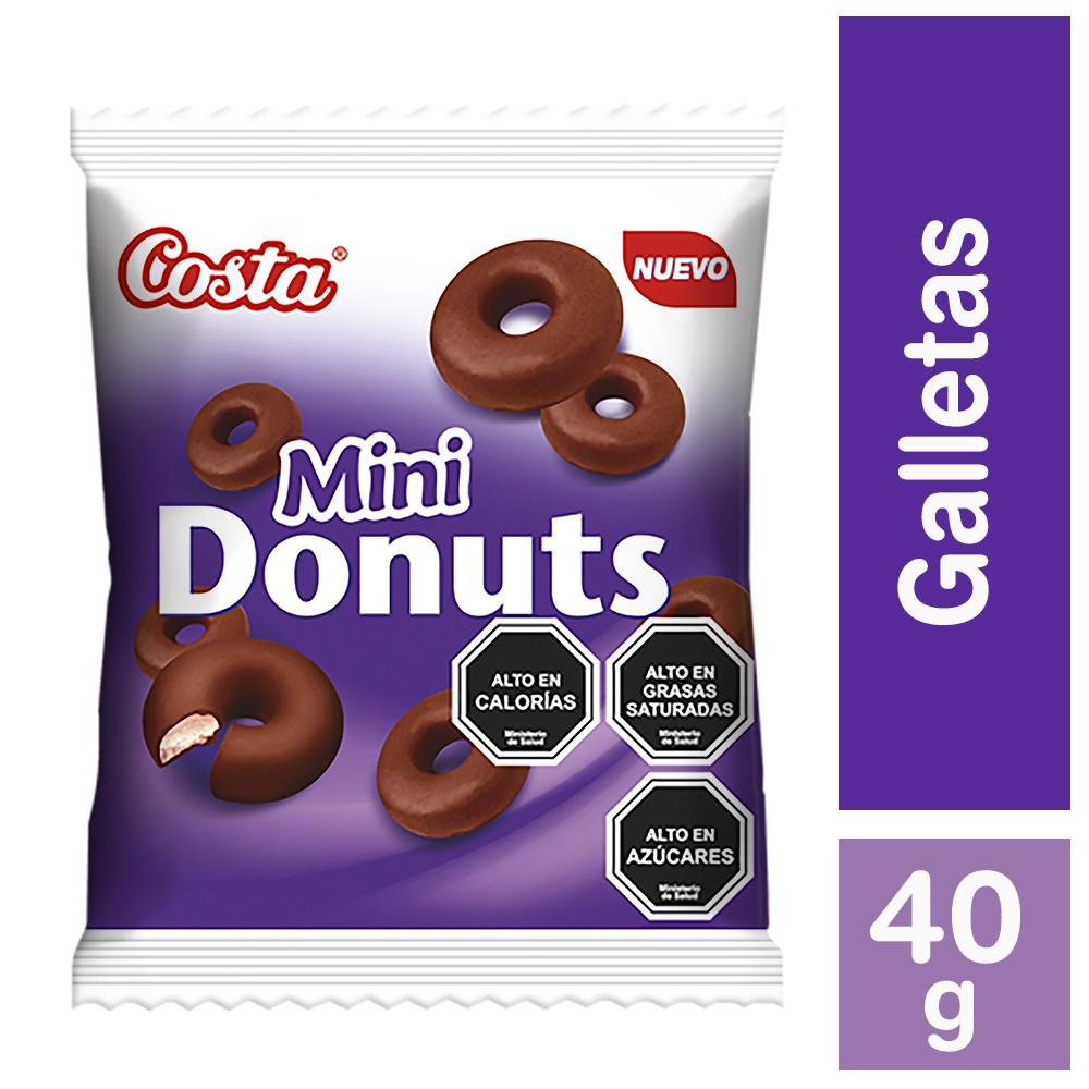 Galleta mini donuts