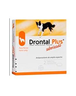 Drontal plus 10 kg 2 comprimidos