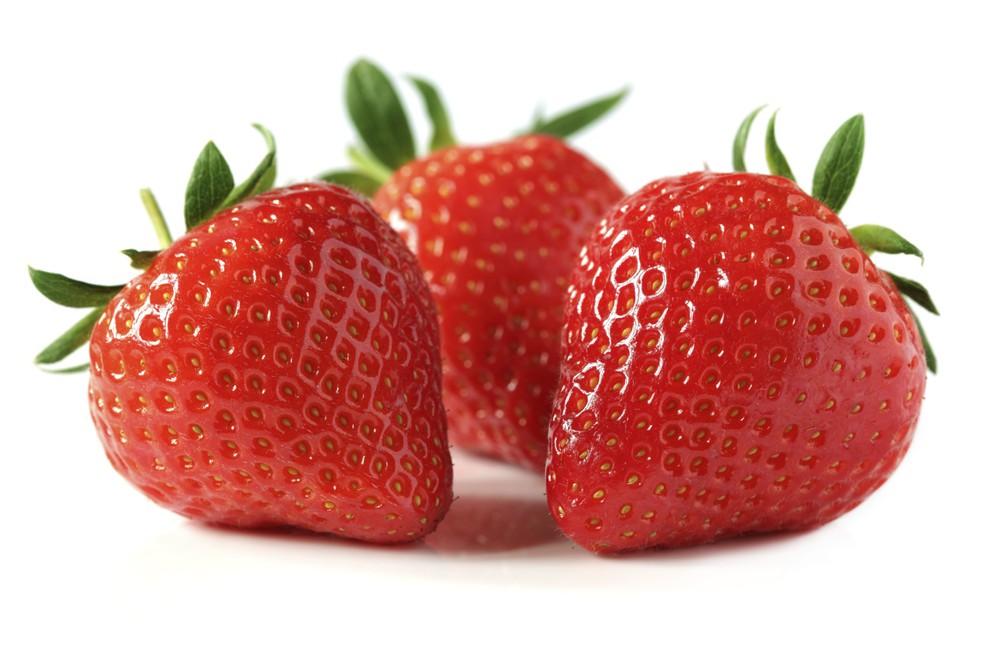 Frutillas caja