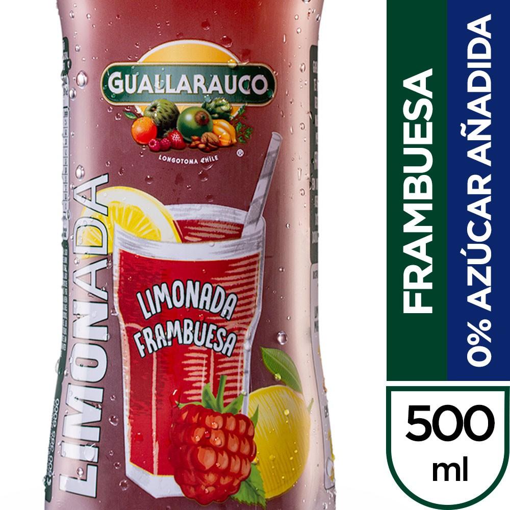 Limonada frambuesa 0% azúcar añadida