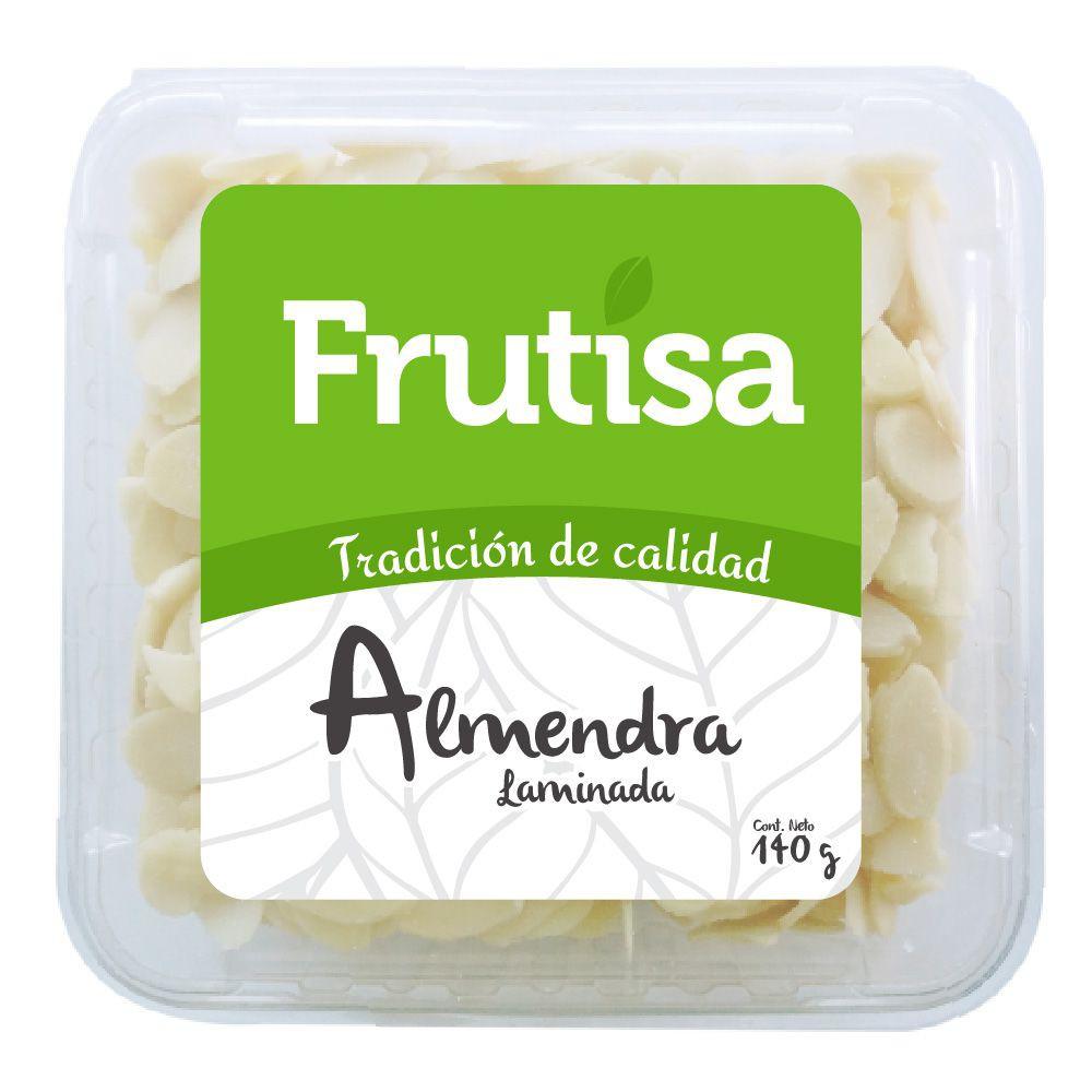 Almendra laminada s/piel frutisa 140 gr