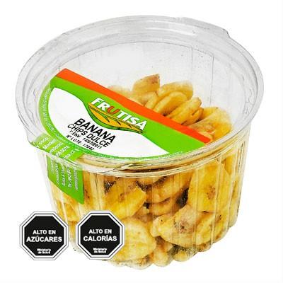Banana chips dulce frutisa 140 gr