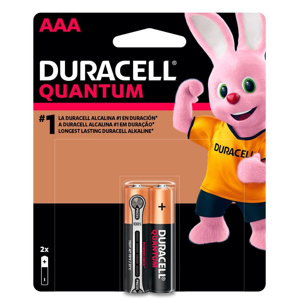 Pila quantum duracell aaax2 un