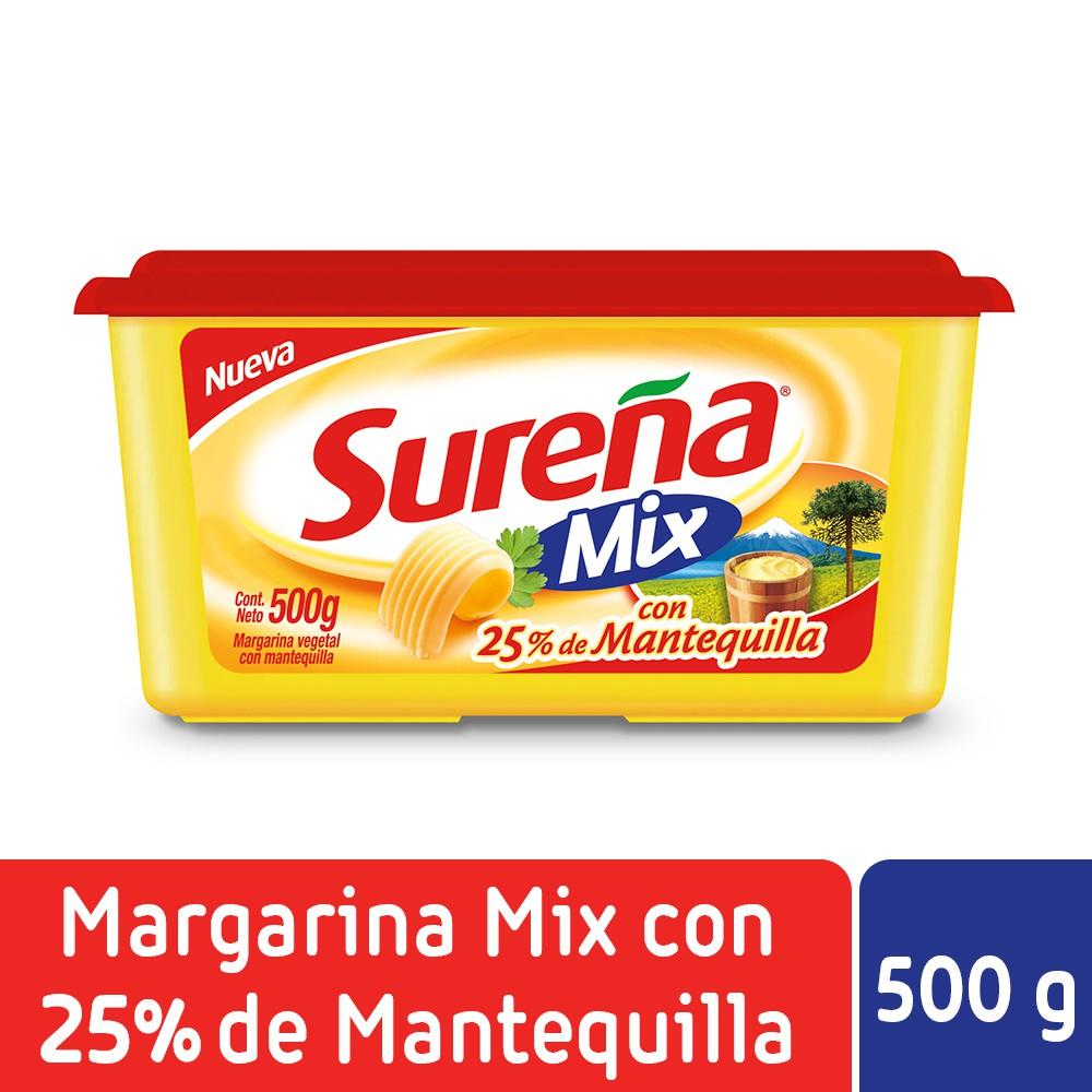 Margarina mix con mantequilla
