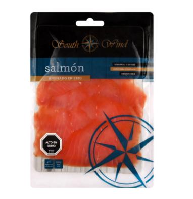 Salmon ahum frio ref south wind 150 gr