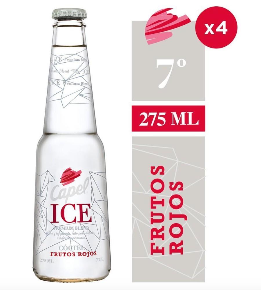 Pack ice frutos rojos 7°