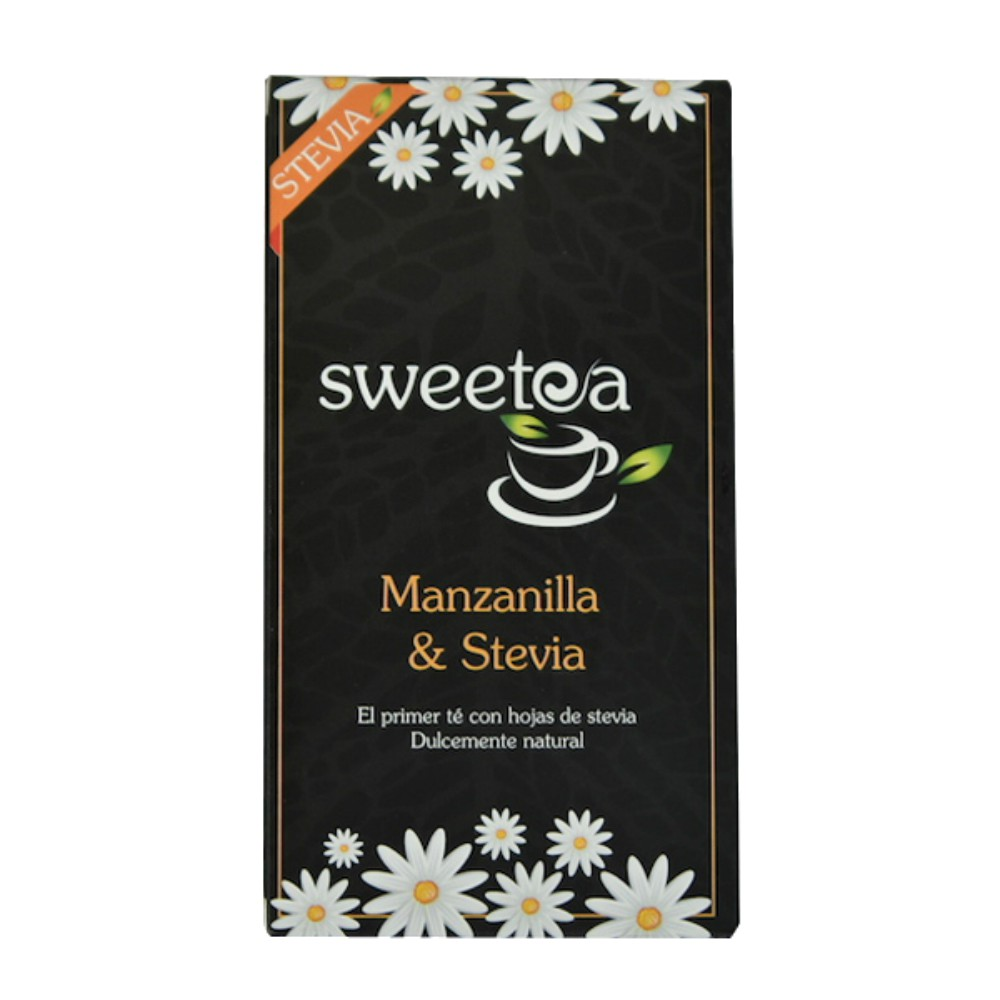 Te c/stevia sweetea 20 un, manzanilla