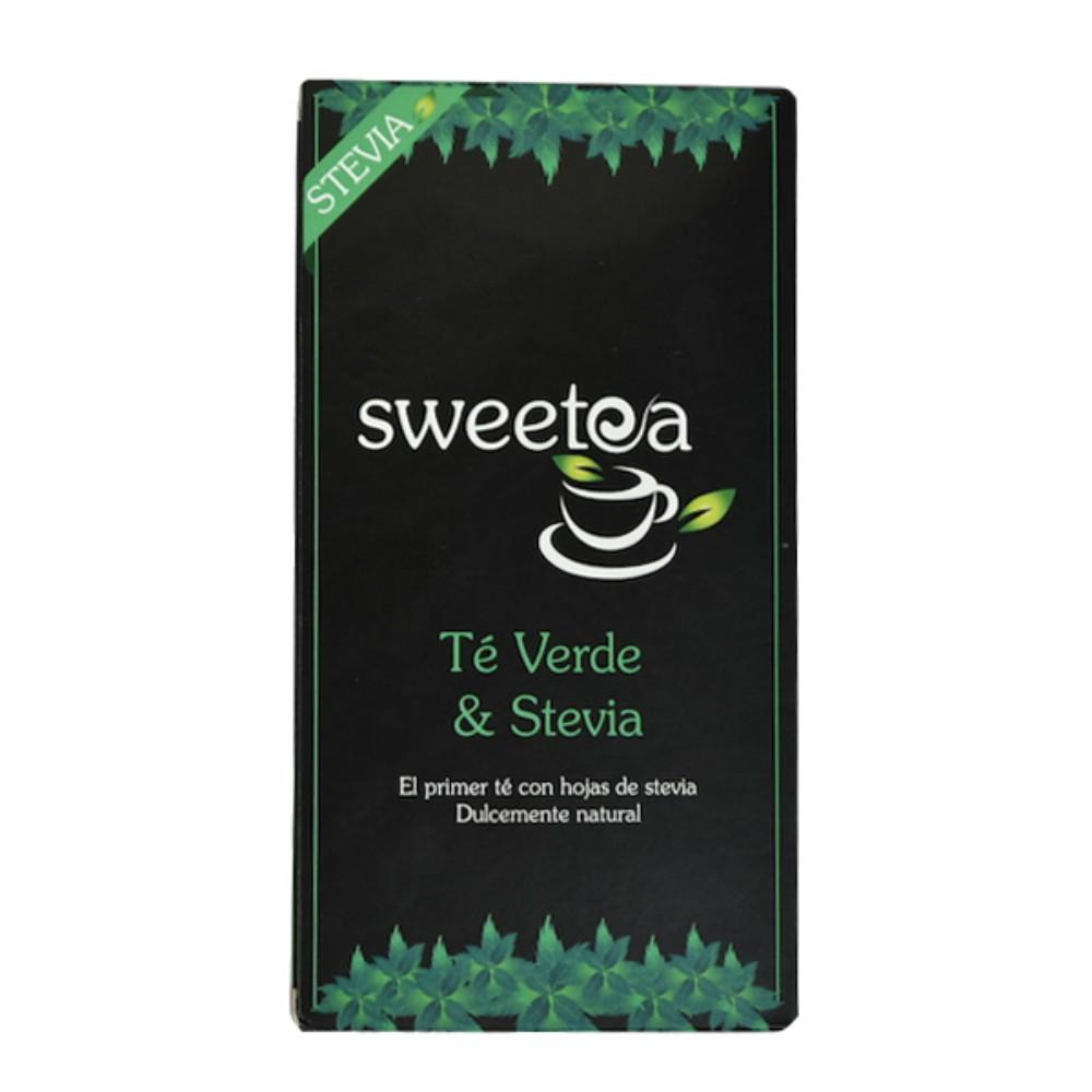 Te c/stevia sweetea 20 un, verde