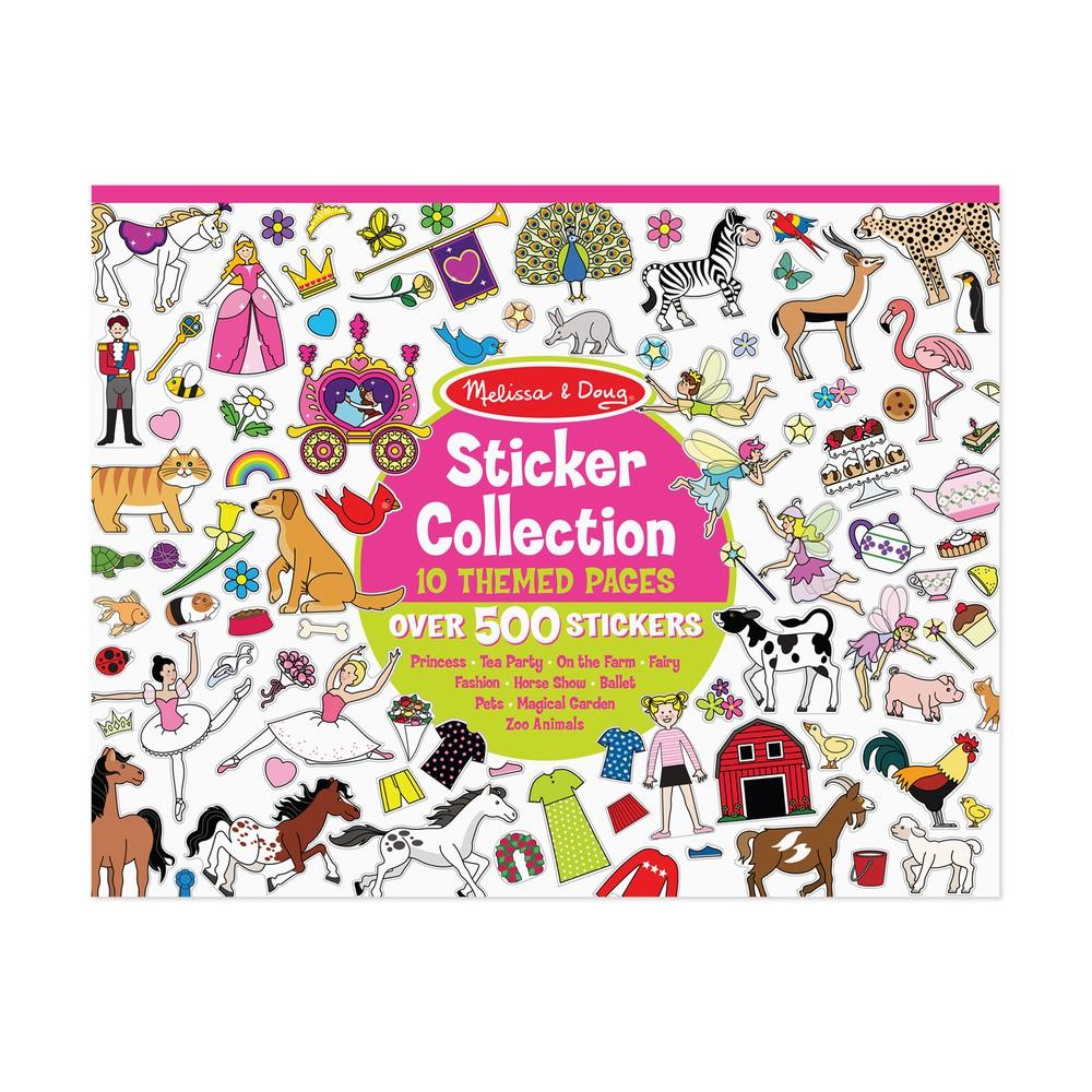 Pad stickers colección niña