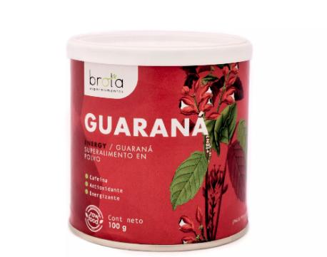 Guarana en polvo - vegano