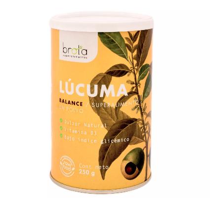 Lúcuma en polvo - Vegano Tarro de 250 gr